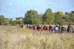 Ziesel-Wanderung am Marchfeldkanal beim Wiener Heeresspital