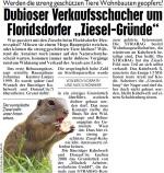 """Dubioser Verkaufsschacher um Floridsdorfer """"Ziesel-Gründe""""?"""