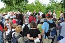 Ziesel-Wanderung beim Wiener Heeresspital  am 15. Juni 2013, (C) www.ziesel.org