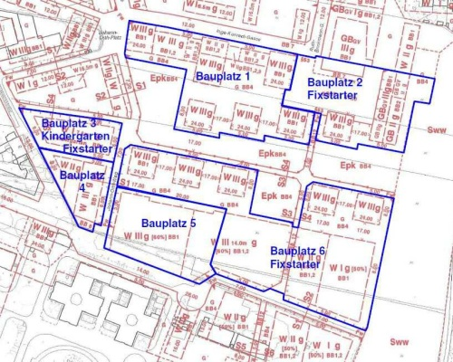 Bauplätze im Ziesel-Lebensraum nördlich des Wiener Heeresspitals