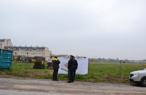 Polizeischutz statt Naturschutz beim Heeresspital